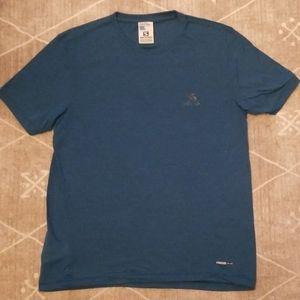 Salmon Men's Short Sleeve Shirt